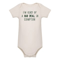 Big deal in Compton Organic Baby Bodysuit