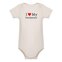 I Love My T Shirts: Organic Baby Bodysuit
