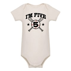 5 Year Old Organic Baby Bodysuit