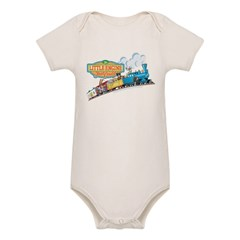Little Engine That Could Organic Baby Bodysuit