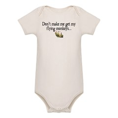 Flying Monkeys Organic Baby Bodysuit