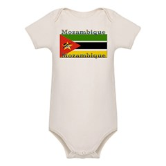 Mozambique Infant Creeper Organic Baby Bodysuit