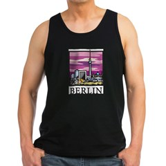 Berlin Men's Dark Tank Top