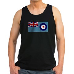 UK's RAF Flag Shoppe Ash Grey Men's Dark Tank Top