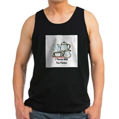 Wild Tea Parties Men's Dark Tank Top
