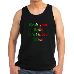 Grab your Balls. It's Bocce Men's Dark Tank Top