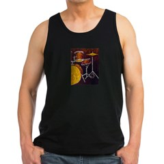 Drum Ki Men's Dark Tank Top