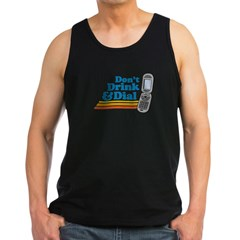 drunk dial Men's Dark Tank Top
