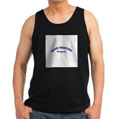 Band Meeting . . . Presen Men's Dark Tank Top