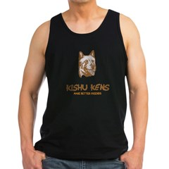 Kishu Ken Men's Dark Tank Top