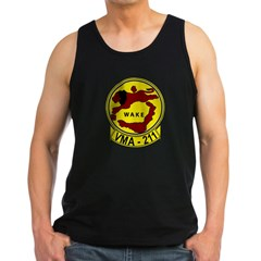 VMA 211 Avengers Men's Dark Tank Top