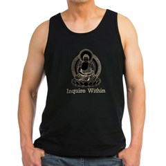 buddha5Bk Men's Dark Tank Top