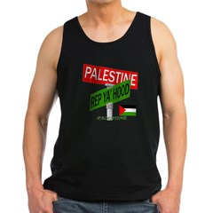 REP PALESTINE Men's Dark Tank Top
