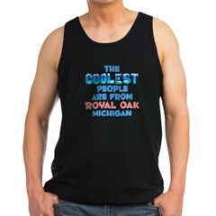 Coolest: Royal Oak, MI Men's Dark Tank Top