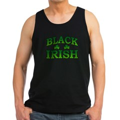 Black Irish Men's Dark Tank Top