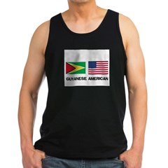 Guyanese American Men's Dark Tank Top