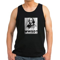 What Would Shakespeare Do Men's Dark Tank Top