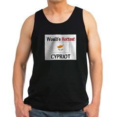 World's Hottest Cypriot Men's Dark Tank Top