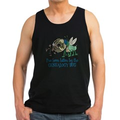 Bitten by Genealogy Bug Men's Dark Tank Top