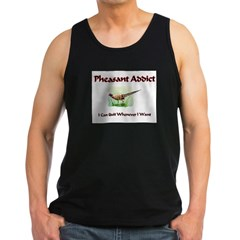 Pheasant Addic Men's Dark Tank Top