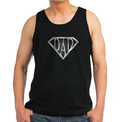 SuperDad - Metal Men's Dark Tank Top