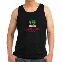 Cancun Therapy - Men's Dark Tank Top