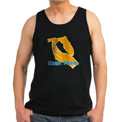 Cough Please Men's Dark Tank Top