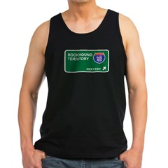 Rockhound Territory Men's Dark Tank Top