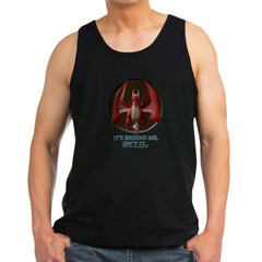 It's Behind Me ... Men's Dark Tank Top