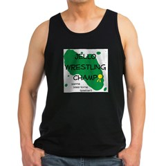 Jello Wrestling10 x 10 Men's Dark Tank Top