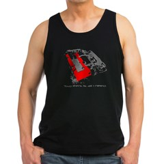 2liters copy Men's Dark Tank Top