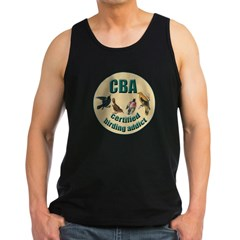 Birding Addic Men's Dark Tank Top