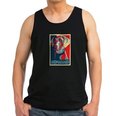 Vote Weimaraner! Men's Dark Tank Top