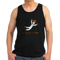 I Tried It At Home Men's Dark Tank Top