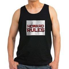 howard rules Men's Dark Tank Top