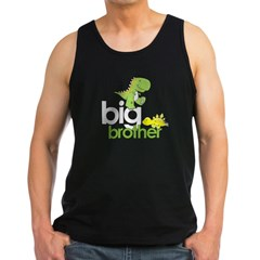 ADULT SIZES big brother dinosaur Men's Dark Tank Top