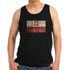 Vintage Polska Men's Dark Tank Top