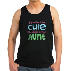 If You Think I'm Cute Men's Dark Tank Top