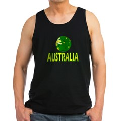Australia Soccer 2010 Men's Dark Tank Top