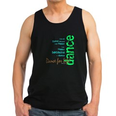Dance for Life 1 Men's Dark Tank Top