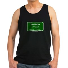 San Mateo Men's Dark Tank Top