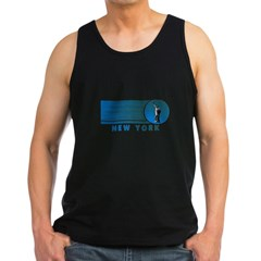 New York Vintage Men's Dark Tank Top