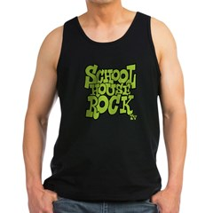 Schoolhouse Rock TV Men's Dark Tank Top