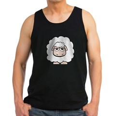 White Sheep Men's Dark Tank Top