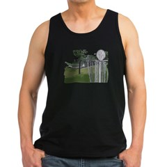 Disc Golf Men's Sports T-Shirt Men's Dark Tank Top