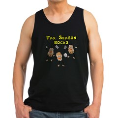 Tax Season Rocks Men's Dark Tank Top