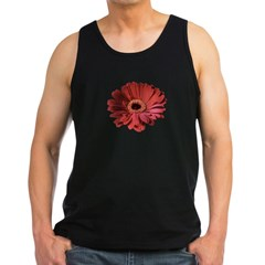 Red gerbera flower Men's Dark Tank Top