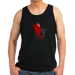 Pocket Scottie Lover Men's Dark Tank Top