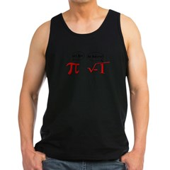 Get Real, Be Rational Men's Dark Tank Top