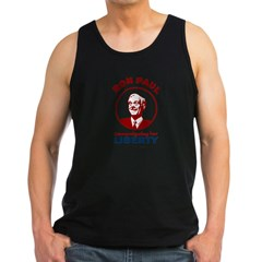 Campaigning for Liberty Men's Dark Tank Top